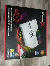 Creative Sound BlasterX AE-5 Hi-Resolution PCIe Gaming Sound Card DAC RGB Aurora