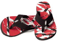 Eddie Van Halen Flip Flops Sandals Shoes Frankenstrat Guitar New Evh Rock & Roll
