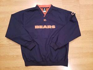 Chicago Bears Jacket Windbreaker Pullover NFL Men's Size Medium