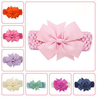 Baby Girls Wave Headbands Bowknot Hair Accessories For Girls Infant Hair Band