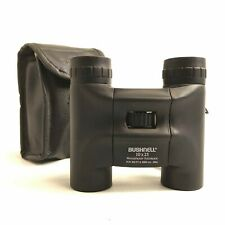 BUSHNELL Black Small Fogproof Waterproof Compact 10 x 25 Binoculars Case 151061