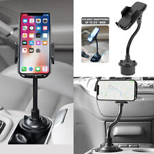 Universal Cell Phone Car Mount Gooseneck Cup Holder For iPhone Xs Max Xr Cradle