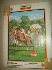 Vintage 1983 Wooden Victory Pony Horse Gymkhana 100 Piece Puzzle