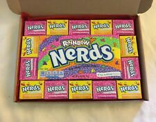 Wonka nerds American sweets gift box - USA Retro Candy hamper birthday present