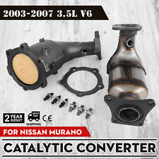 Fits 2003-2007 Nissan Murano 3.5L Catalytic Converter Right&Left Side