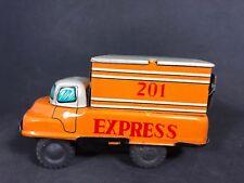 Vintage Haji Japan Vintage Tin Toy 201 Express Truck EUC 19I