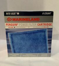Marineland Penguin Power Filter Cartridge Rite-Size C Fits Pro 275/375 (6 Count)