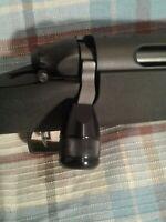 Remington 700 Black Bolt on Knob Tactical Knob Aluminum Knurled Bolt Lift