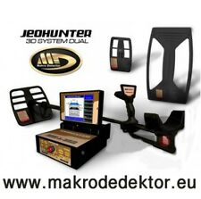 METAL DETECTOR 3D JEOHUNTER DUAL SYSTEM GEORADAR GPR GROUND PENETRATING RADAR