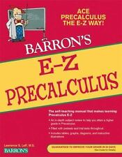 College math paperback textbooks educational books ebay new listingbarrons e z e z precalculus by lawrence leff 2010 paperback revised fandeluxe Gallery