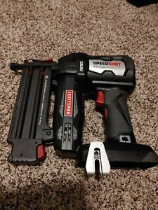 Rare Craftsman C3 19.2 Volt Speed Shot Brad Nailer Tool Only Great condition