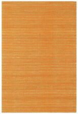 The Rug House Ranger Modern Orange Natural Jute Cotton Durable Easy Clean...