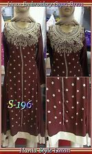 Ready Made Embroidry Linen Marina Capri Shalwar kameez Suit Size: Small /10