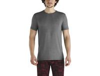 SAXX Men's Sleepwalker Short Sleeve T-Shirt - Charcoal Heather SXLW31CHT Size XL