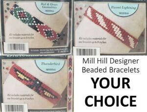 YOUR CHOICE Mill Hill Designer Beaded Bracelets Kit Series 4 1994 NIP VTG RARE