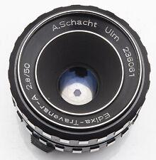 Travenar A.Schacht Schacht Ulm Edixa-Travenar 1:2.8 2.8 50mm 50 mm M42 Anschluss