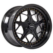 18x9.5 ARC AR2 5x114.3 +35 Black Rims Fits Mazda 3 6 Rx7 Rx8 Fusion Escape