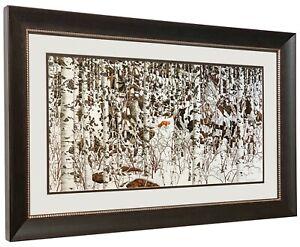 Bev Doolittle WOODLAND ENCOUNTER Matted & Framed Art Print Open edition