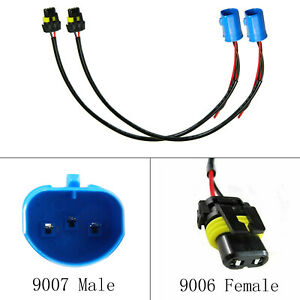 9004 to 9006 Wire Harness for HID ballast to stock socket for HID Conversion Kit