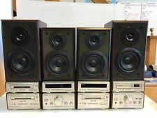 Qty 2 Technics (Hd81 and Hd51)Stereo Systems