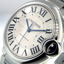 UNWORN CARTIER BALLON BLEU W6920046 37 mm MIDSIZE AUTOMATIC STAINLESS STEEL