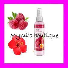 Spray rafraîchissant framboise hibiscus AVON Naturals pour cheveux fins ou gras