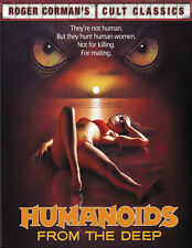 Humanoids from the Deep (1980) Horror movie poster print 2