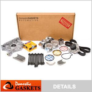 Fit 97-98 Honda CR-V 2.0L DOHC Master Overhaul Engine Rebuild Kit B20B4