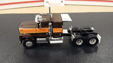 1/64 BROWN 30015 TOP SHELF REPLICAS TSR IH 4300 CONVENTIONAL SEMI CAB TRUCK DCP