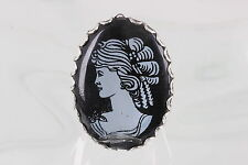 Unmounted Cameo 0517B Sihouette On Plastic