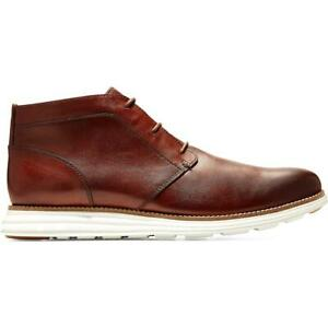 Cole Haan Mens Original Grand Leather Wingtip Style Chukka Shoes BHFO 3585