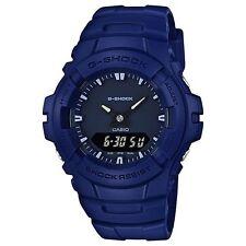 CASIO G-Shock Men's Watch Blue x Black G-100CU-2A