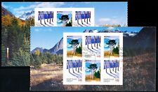 Greenland #589-590b Europa booklet panes, VFU (TP00028)