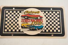 California Street Machines Expo '87 1987 License Plate (IL2) Paper