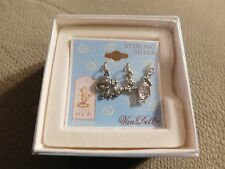 DISNEY VAN DELL CLASSIC WINNIE THE POOH STERLING SILVER 3 CHARM SET