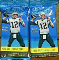 2020 Panini Score Football Fat Pack HOT LOT OF TWO Burrow rookie?? donruss prizm
