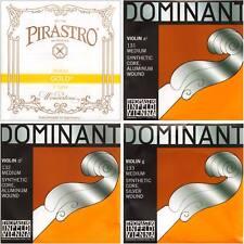 JSI Special Dominant Violin String Set: Gold Label E Ball End