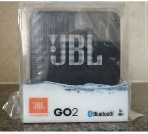JBL GO2 PLUS Bluetooth Portable Speaker ( Black )-SD5.fully sealed & wrapped