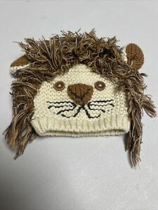 Baby Gap  Boys Girls Lions Hat Perfect For Halloween 0-3 Months