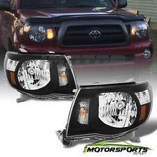 [TRD Style] 2005 2006 2007 2008 2009 2010 2011 Toyota Tacoma Black Headlights