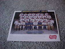 1988 Buffalo Sabres NHL Team Photo