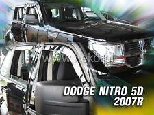 HEKO Windabweiser DODGE NITRO 5türig ab 2007 2teilig Regenabweiser 13404