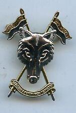 The  Scottish and North Irish Yeomanry (SNIY) Metal Cap Badge