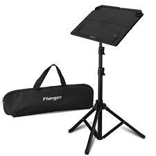 Foldable Metal Black Sheet Music Stand Holder Adjustable 53-130cm