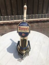 Vintage Tetley Bitter Smoothflow Metered Beer Pump