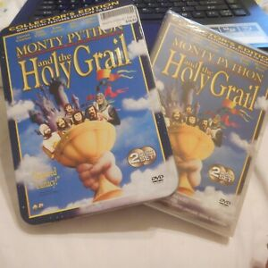 monty python and the holy grail in steelbook case dvd bn sealed