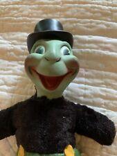 nd disney jimmy cricket rubber face plush LR