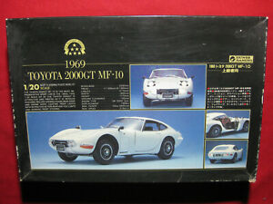 1969 Toyota 2000GT MF-10 Gunze Sangyo 1/20 Motorized Kit Rare Vintage Japan 1984