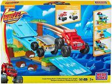 Mega Bloks BLAZE & THE MONSTER MACHINES - Jungle Ramp Rush Playset Toy