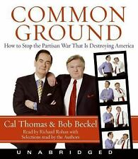 Common Ground - by Thomas & Becker - Audio Book on CD
